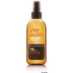 Piz Buin Wet Skin Transparent Spray SPF 15, 150ml