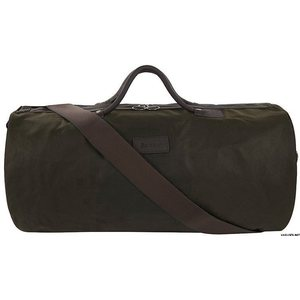 Barbour Waxed Cotton Holdall Bag